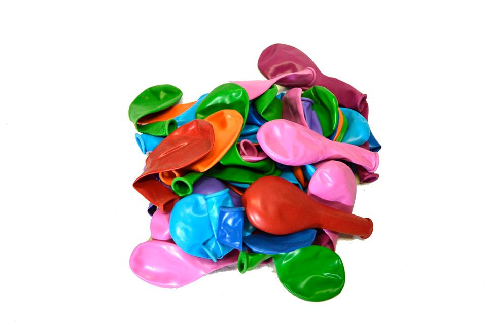 100 броя балони пастел