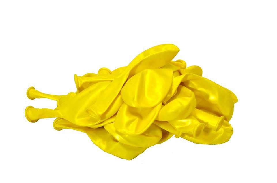 Балон металик жълт