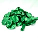 Балон металик тъмно зелен