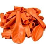 Балон металик оранжев