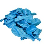 Балон металик светло син