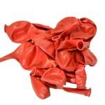 Балон пастел червен