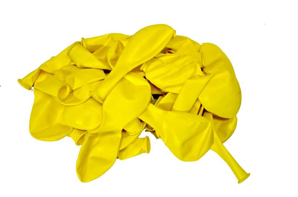 балон пастел жълт