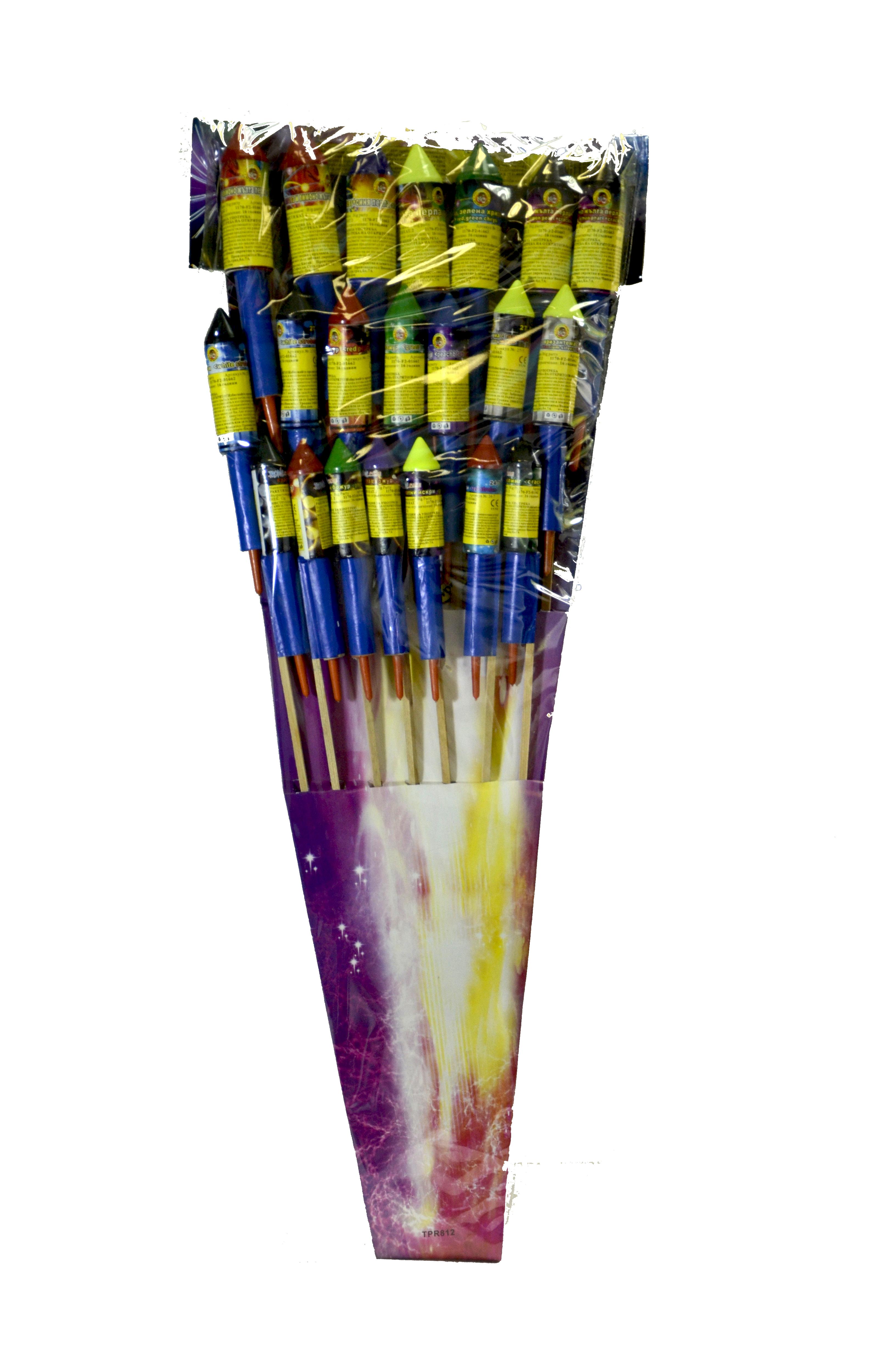 Ракети Голямото парти 21 броя